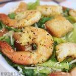 shrimp on salad side