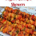 Grilled Buffalo Chicken Skewers