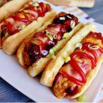 stuffed hot dogs