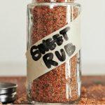 best sweet rub in a glass jar