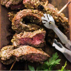 brazilian garlic sirloin steaks
