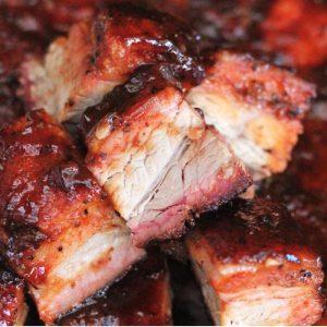 bbq smoked pork belly