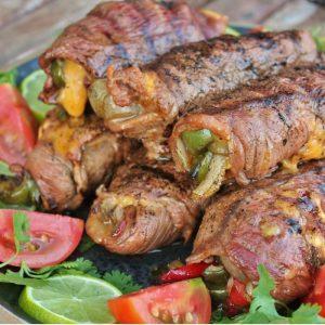 steak fajita roll ups
