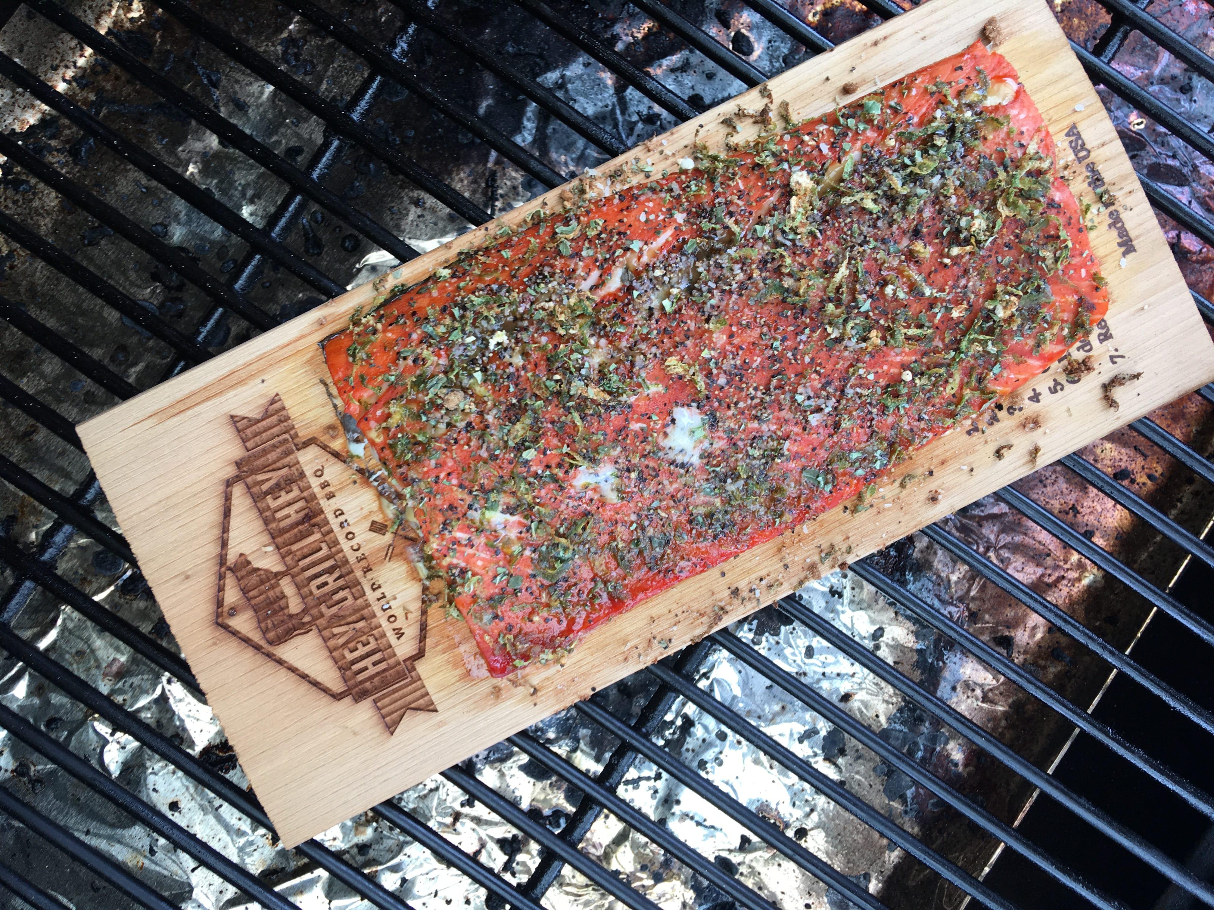Cedar Plank Salmon Grill