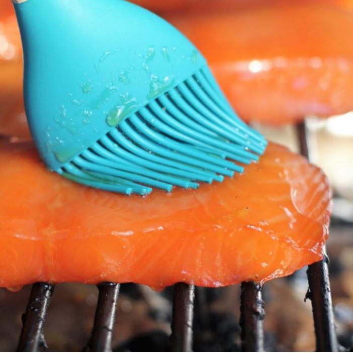 Smoked Salmon with Maple Orange Glaze