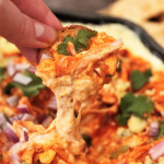 smoked buffalo chicken dip