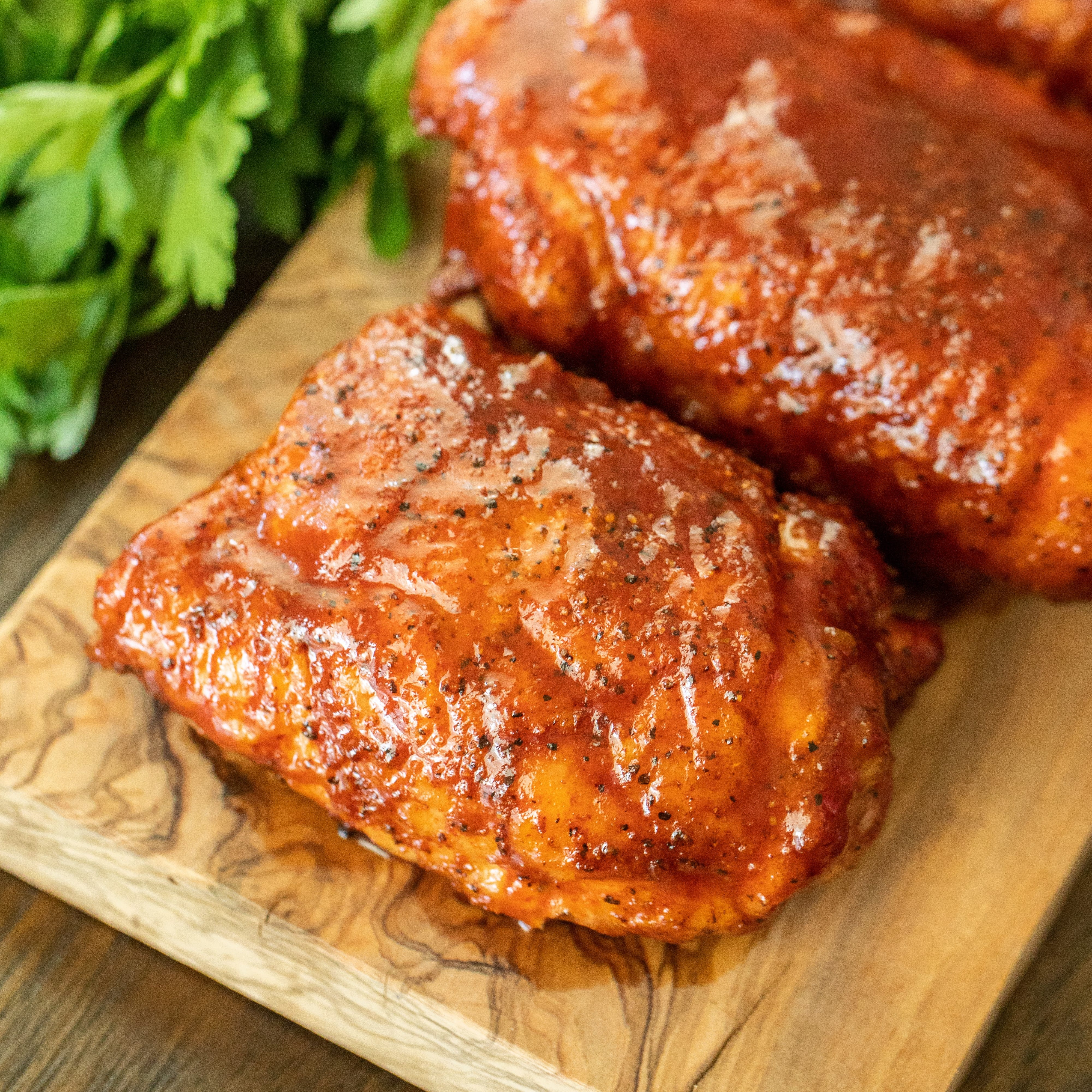 how long smoke chicken breast