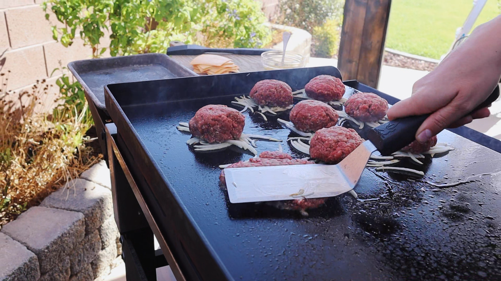 Homemade Smash Burger Recipe Hey Grill Hey