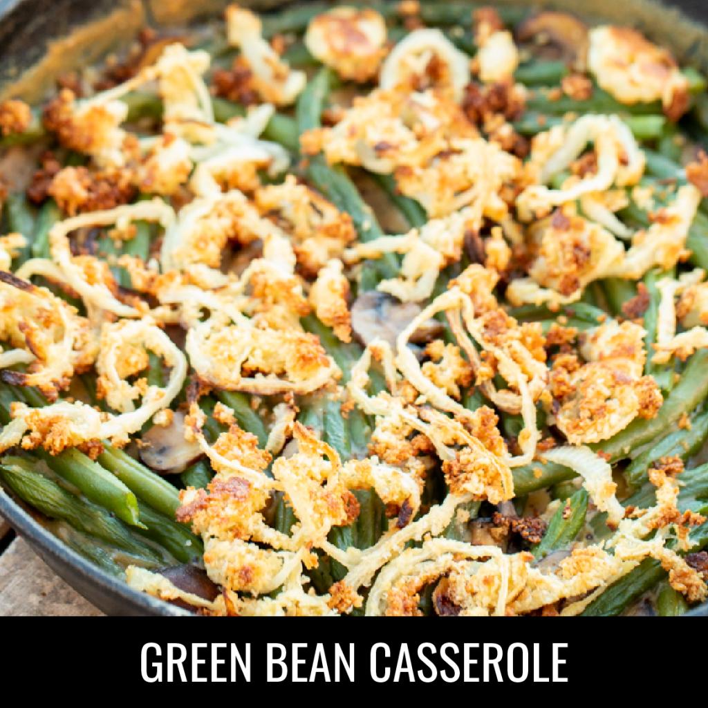 Smoked Green Bean Casserole