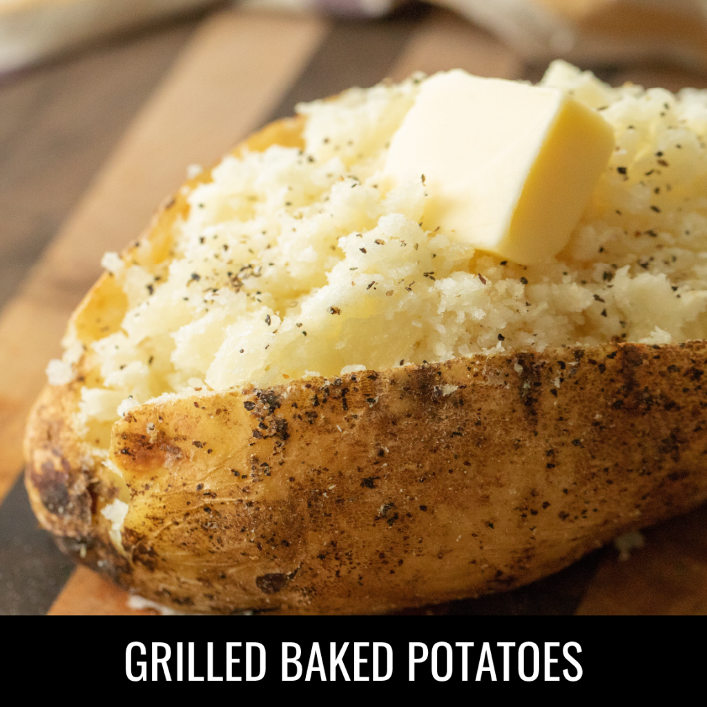 Baked Potato on the Grill
